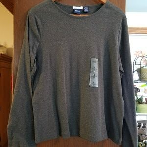 Basic edition gray long sleeve tee